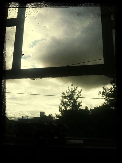 Looking thru my window thinking of you ^ First Eyeem Photo