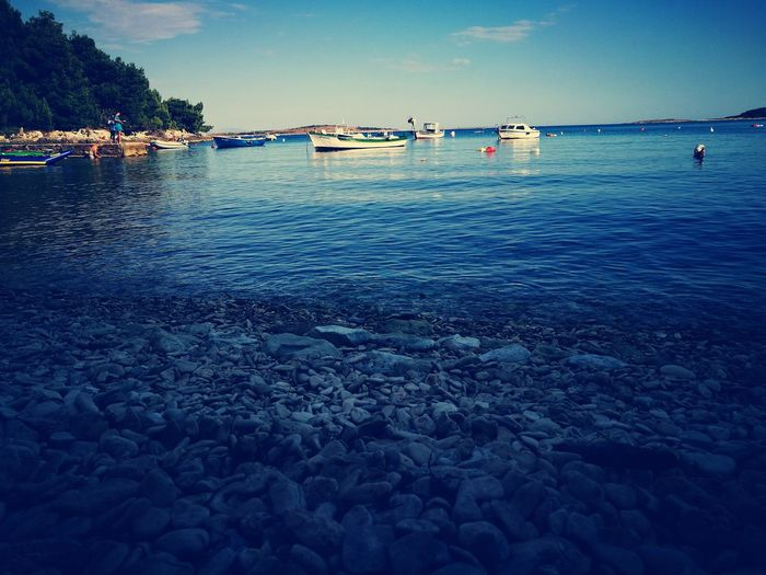 Croatia Kroatien Prementura Kamanjak Sea Water Beach Beauty In Nature Non-urban Scene
