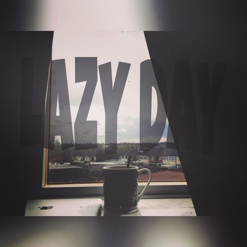 Lazy Lazy Day Cup Tea Window Clods And Sky England Birmingham