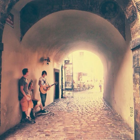 Música Miusic Prague Street IPhoneography