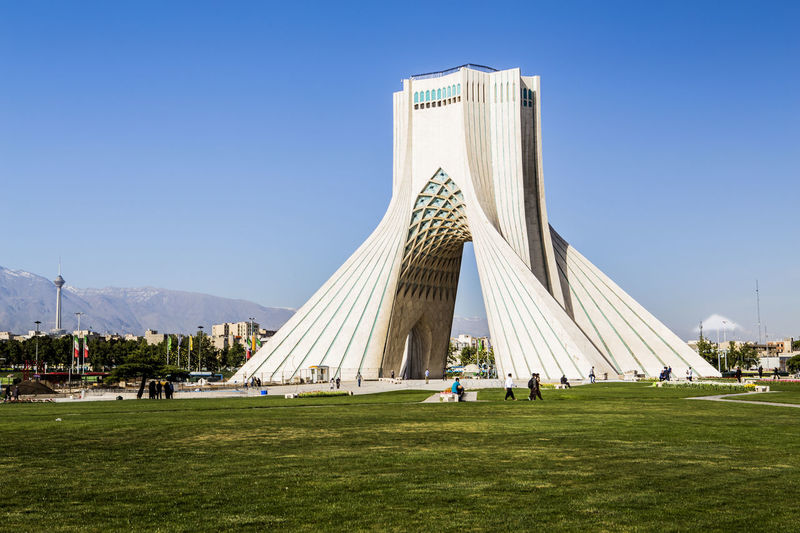 here you can see three symbolism of Tehran View Azadi Tower in center, Milad tower in left and Damavand volcano .tehran . iran Azadi Square Azadi Tower Azadi Tower In Tehran Damavand Damavand Mountain View Milad Tower Symbol Tehran Streets The Great Outdoors - 2017 EyeEm Awards The Street Photographer - 2017 EyeEm Awards The Architect - 2017 EyeEm Awards BYOPaper! Mobility In Mega Cities