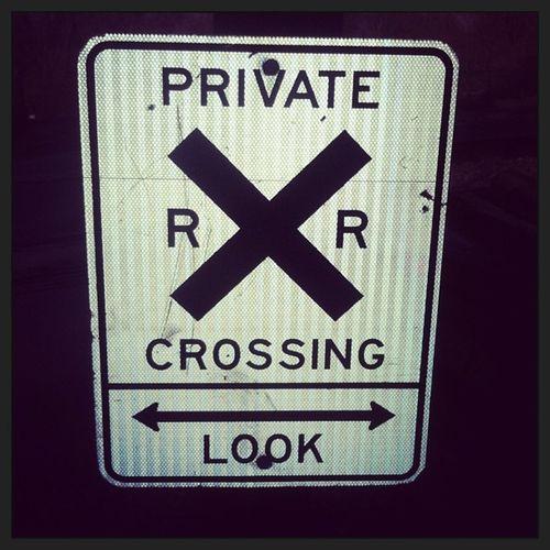 Look both ways when crossing the tracks RVA Amtrack SundayFunday
