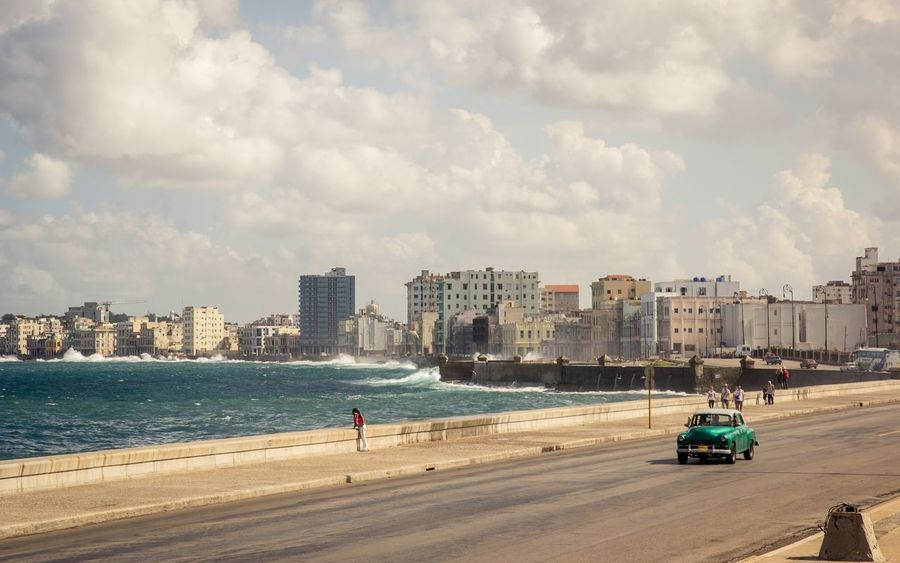Been There. Cuba Havana Malecon Architecture City Old Car Seaside EyeEmNewHere