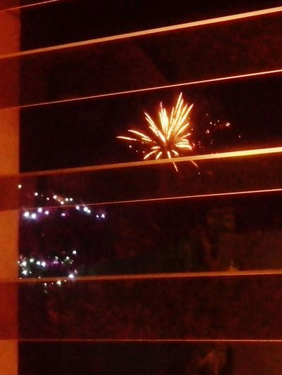 It's fireworks by my window Ready Perfect View Taking Photos Xmas New Year Merry Xmas