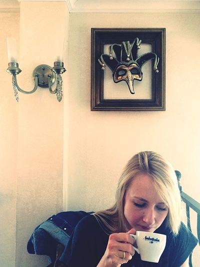 • из архива: кофе с хореографом Евгенией Долгалевой   Россия Москва Евгения Долгалева Russia Moscow Cappucino Miting Mask Americano Coffee