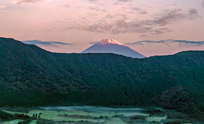 Beauty In Nature Eye4photography  EyeEm Nature Lover Freedom From My Point Of View Fuji Fujiama Fujiyama Geology Horizon Japan Landscape Majestic Mountain Mountain Range Mountain View Mountain_collection Nature Non-urban Scene Outdoors Physical Geography Scenics Sunset Vulcano Vulcanos