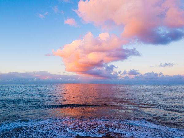Beauty In Nature Cloud - Sky Day Horizon Over Water Ko Olina Nature No People Outdoors Scenics Sea Sky Sunset Tranquil Scene Tranquility Water Waterfront Wave