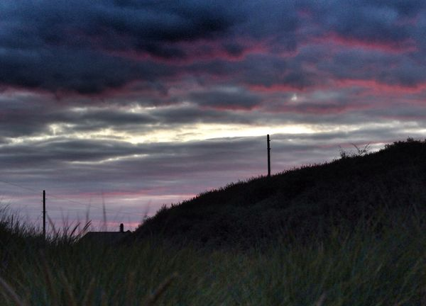 Sky Mablethorpe Sunset