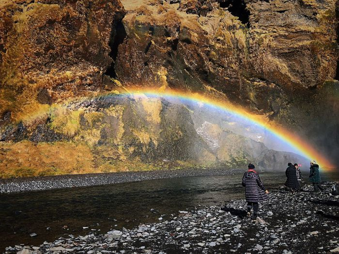 This is natural🏳️🌈🏳️🌈🏳️🌈Love is the biggest❤️💛💚💙💜 你我都一樣 愛最大 婚姻平權 1124 Rainbow Love Taiwan Nature Sunlight Water Real People Day Beauty In Nature Outdoors