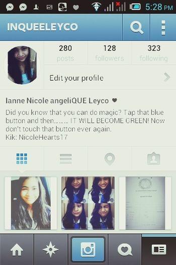 Follow Me On Instagram harhar k byeee