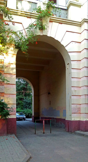 Arch Architecture Building Exterior Outdoors Tree Day No People Plant Arch Rostov-on-Don апхитектура арка дворик Ростов-на-Дону