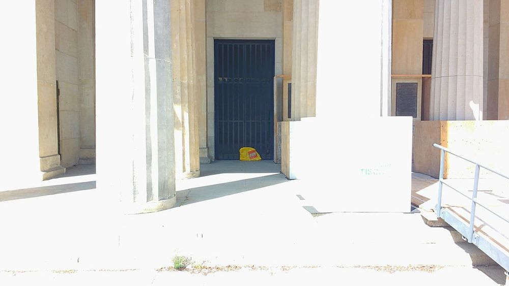EyeEm Selects Door Architecture Built Structure Building Exterior No People Bright White Sunny Overexposed Entrance LEGO Bricks Berlin Museum