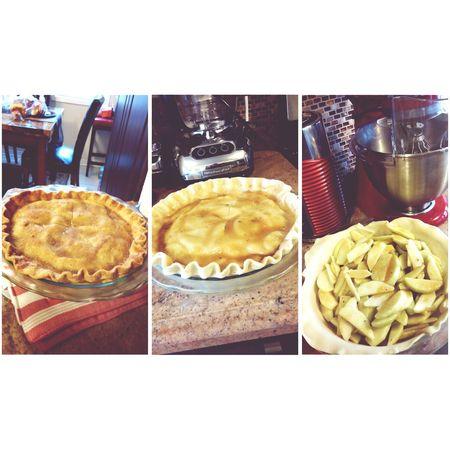 Home Sweet Home Baking Day Apple Pie Dessert Porn