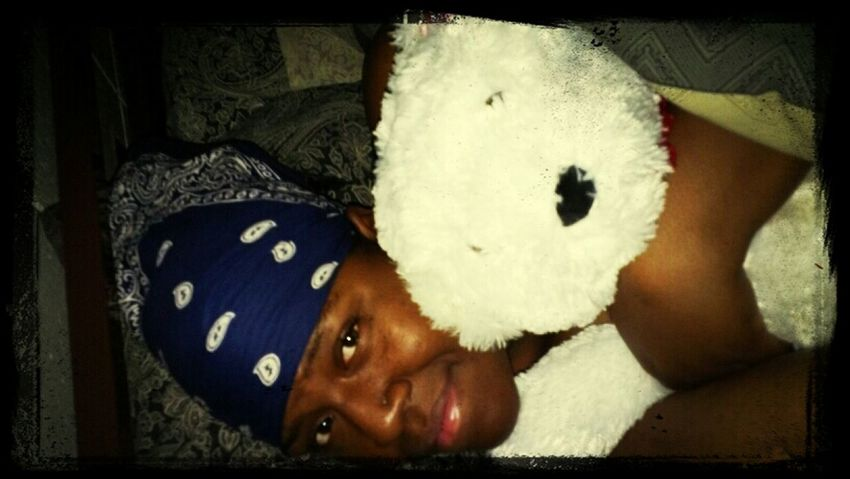 me & my favorite bear