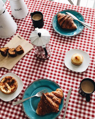 Plate Table High Angle View Food Day Dessert No People Brunch Breakfast Coffee Time Coffee Coffee Cup Food And Drink Foodporn Food Porn Foodphotography Food Photography Ready-to-eat Freshness Foodie Eating Brazil Food Lunchtime Lunch
