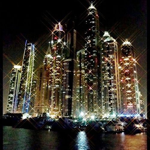 Dubai Marina Dubai Dhowcruise Nightlife UAE dubai buildings