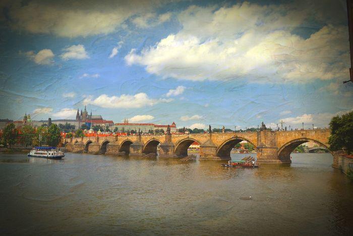 Like a painting... OpenEdit Prague At Karlův Most   Charles Bridge Discovering Great Works Enjoying Life