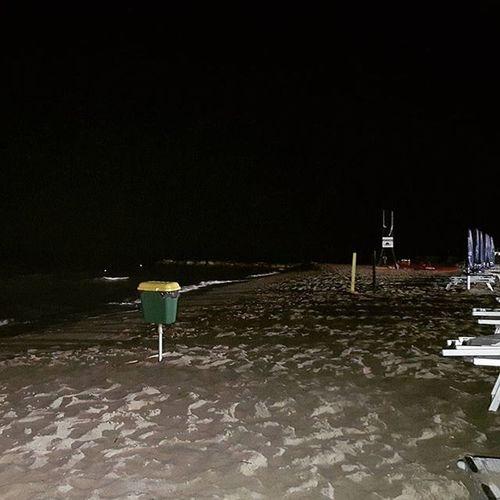 Sea on the night.. Maredinotte Puglia Estate2015 Provinciadifoggia Seabynight Nightbeach Southernitaly Italy
