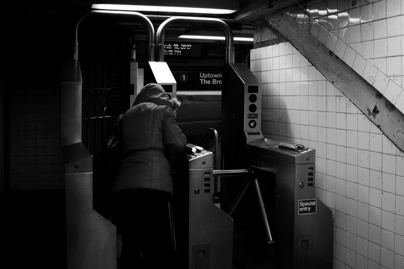 Stranger Bnw Subway First Eyeem Photo