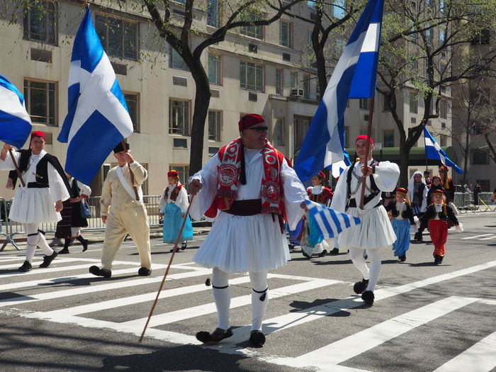 5th Avenue Culture Flag Greek Culture Greek Independence Day Parade Greek Parade NYC NYC Greek Parade Parade Traditional Culture