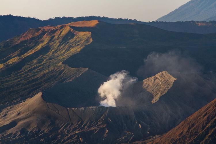 Mt. bromo located in bromo tengger semeru national park, east java, indonesia.