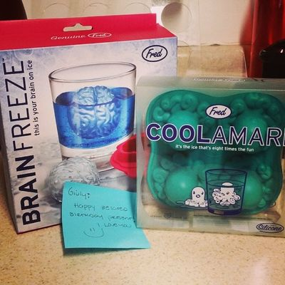 So excited!! Exactly what I wanted! ? 4 month belated present ? jaja HappyBirthday Icecubes