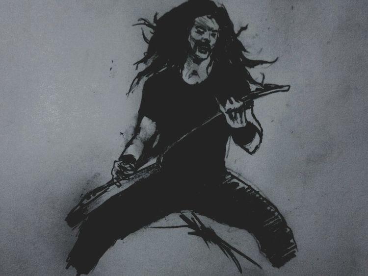 James Hetfield Metallica @Luisyee