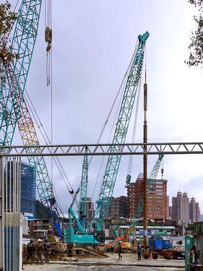Construction Site Construction Sky Built Structure Architecture City