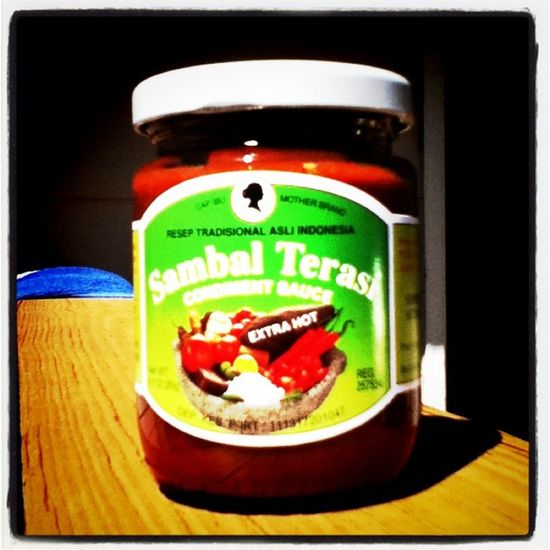 For my #Indonesian friends. Sambal Terasi. Yummy INDONESIA Spicy Indonesian Pedas Nasilemak Sambal Nasi