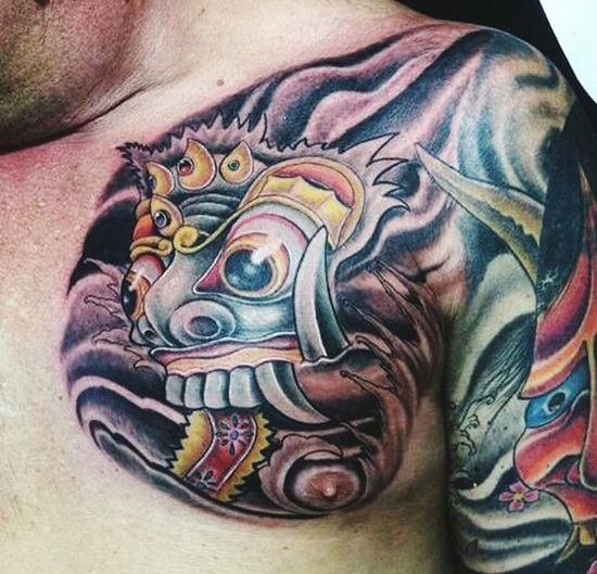 Indonesiantattoo Body Painting Art Body Paint Real People Tattoo Artist Tattoo Tattoo Life Tatoo Art Tattoo Style Men
