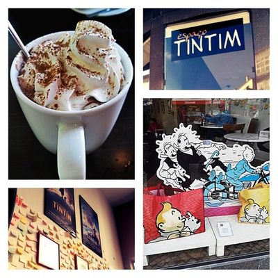 Tintim Cafe Chocolate Quente avenida roma delicioso miam