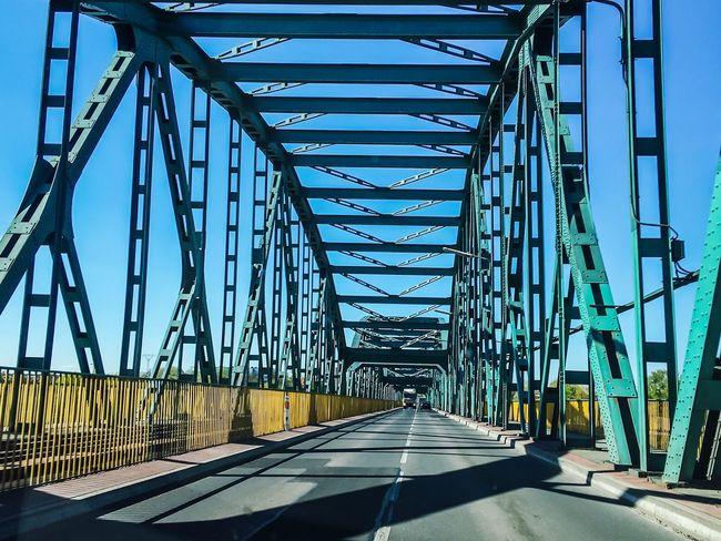 Fordon Bridge in Bydgoszcz Bridge Bydgoszcz, Poland  Bydgoszcz City Road Overtheriver Carview Driverview
