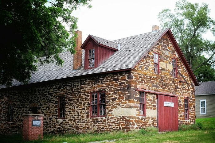 https://youtu.be/L7VjsT9If1A Blacksmith Shop Small Town Rural America Color Photography Nebraska Brick Building Historical Building Roadside America Rural Exploration History Through The Lens