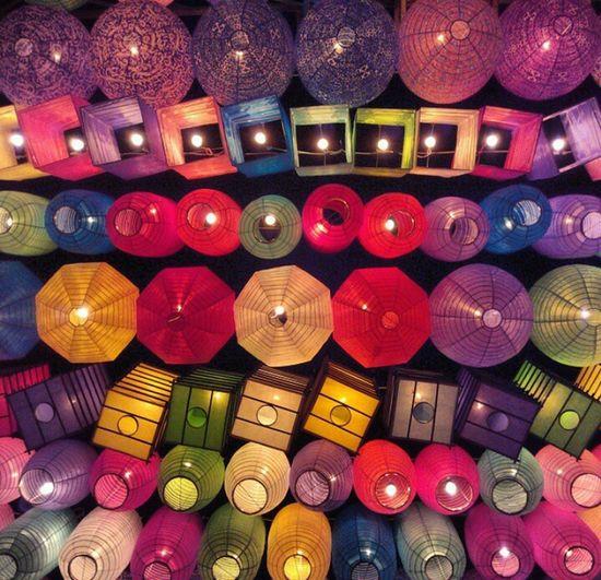 Beautifully Organized Multi Colored No People Variation Futuristic Lampion_festival