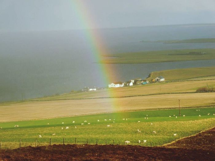 rainbow over the orkney islands Travel Traveling Starting A Trip