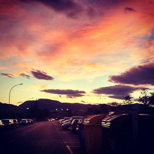 Atardecer Cielo Red Sky Juannarvaez Photography