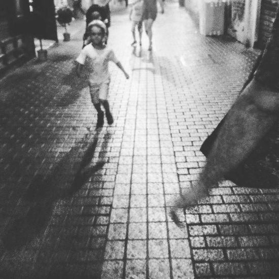 #kids #kids Playing #plaza #palace #Contrast #blackandwhite #streetphotography #barcelona #spain #street #lines City Shadow Low Section Men Sidewalk Street Walking Sunlight Monsoon Rain Long Shadow - Shadow Focus On Shadow Stone Tile