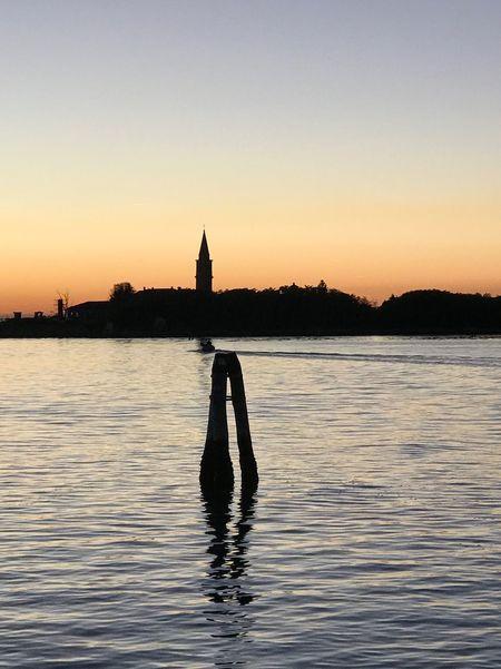 Sunset Venice, Italy Poveglia First Eyeem Photo EyeEmNewHere