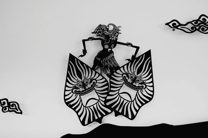 -Wayang Kulit- Wall - Building Feature Art Art And Craft Decoration Creativity Ornament Indonesian Traditional Arts Traditional Puppet-shadow Central Java, Indonesia