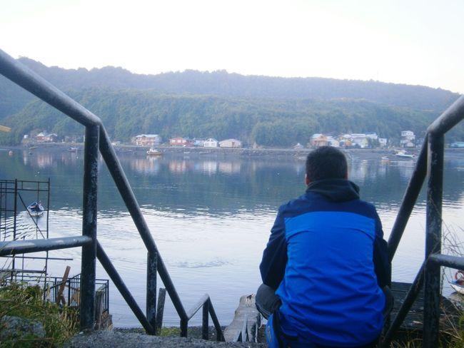 Puerto Montt Chile Naturaleza Relaxing Enjoying Life Mochileando Pensativo  Sur De Chile