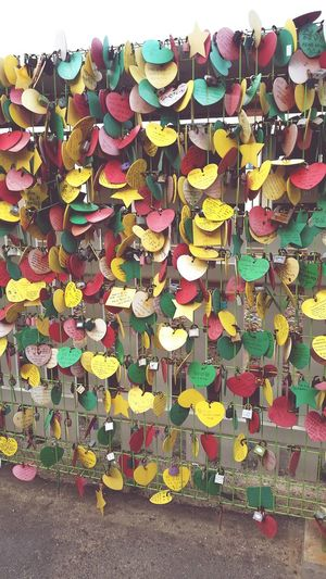 love Love Way Hart Korea Day Hope Happy Cople Wish Memories Time Wall Friendship Abundance Large Group Of Objects Hanging Multi Colored Variation Outdoors No People Padlock Love Lock Close-up First Eyeem Photo Your Ticket To Europe