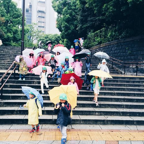 Ultimate Japan Rainbow Umbrella Rainy Days you can stay under my umbrella