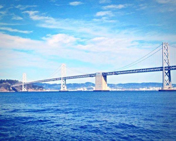 Mobilephotography Skyporn Blue Sky The Week On Eyem EyeEmBestPics Sanfrancisco Bay Area Baybridge Shades Of Blue Sky Porn The Great Outdoors - 2016 EyeEm Awards