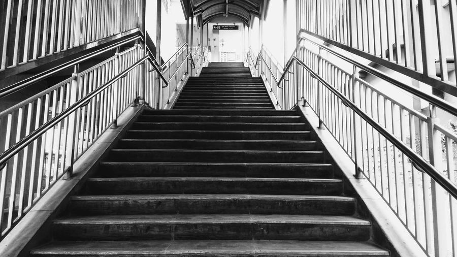 Metro Stairs Stair Stairs Longwalk Staircase Blackandwhite Black White Gray Walk Upside Prespective Prison Steps And Staircases Steps Staircase Passageway Corridor Narrow Entrance Hall Long Lane Arched Pathway Passage The Way Forward