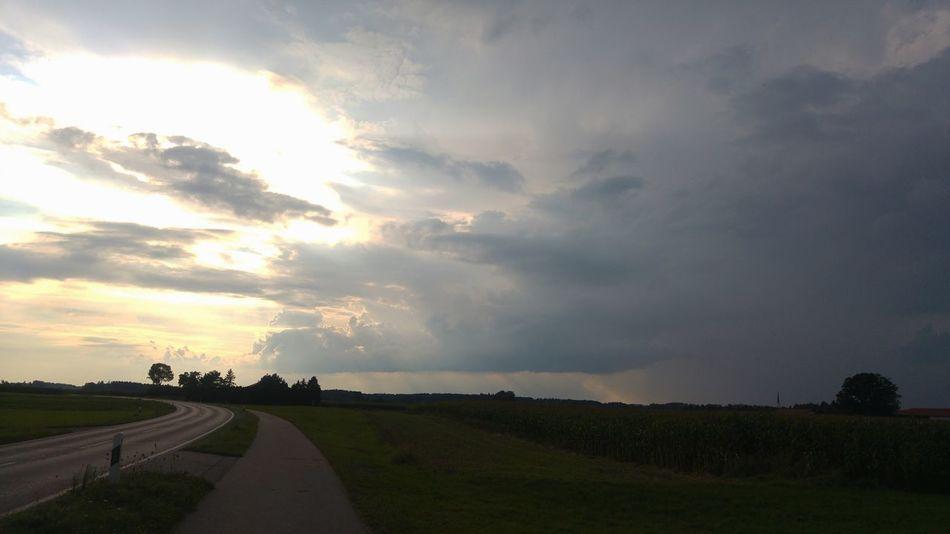 Chiemgau Cloud - Sky Environment Field Land Landscape Nature Rural Scene Sky