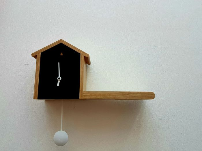 Indoors  No People Close-up White Background Day Wooden Bird House Wood Minimalist Architecture