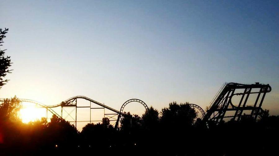 From Gardaland See Life With Love <3 Skyline Sunset Sunset_collection Gardaland EyeEm Best Shots