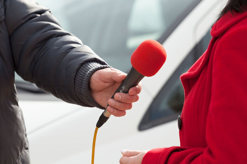 Reporter. News conference. Journalism. Journalist Audio Event Interview Mic Press Sound Broadcasting Communication Conference Hand Holding Information Journalism Media Microphone News People Public Report; Reporter Television Tv