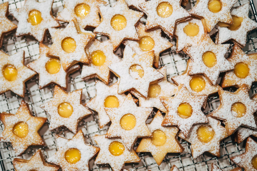 We're baking Shades Of Winter Christmas Cookies Backgrounds Bakery Baking Close-up Day Directly Above Food Food And Drink Freshness Full Frame Indoors  Large Group Of Objects Lemon Curd No People Pattern Sweet Food