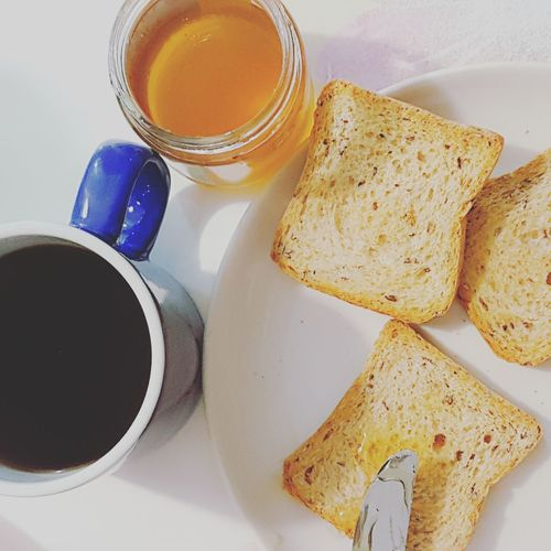 Food And Drink Drink Freshness Refreshment Indoors  Coffee Cup Food Coffee - Drink Breakfast Still Life Ready-to-eat Sweet Food Black Coffee Cake Healthy Eating Hot Drink Non-alcoholic Beverage Beverage Dessert Brown